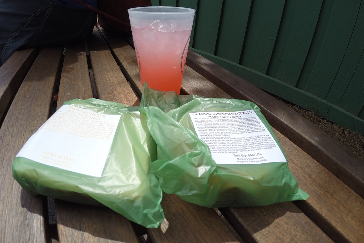 Lunch at Augusta National