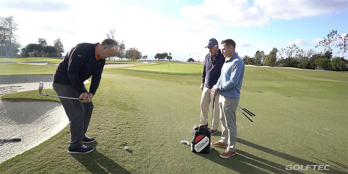 Wedge fitting with Bob Vokey- Dave wedge fitting