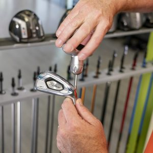 What comes first: lessons for club fitting- club in hand