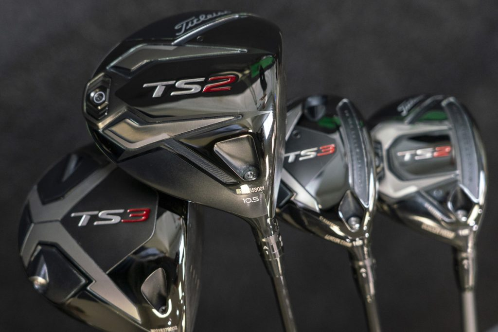 Titleist TS drivers and woods