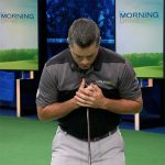 Hit consistent irons with a steady head- drill 1