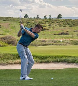 Hit more greens with a conservative target- approach shot