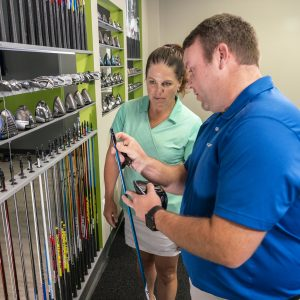 A look inside the real effects of a custom club fitting- driver fitting