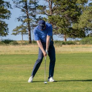 Improve your iron contact with this drill- iron at impact