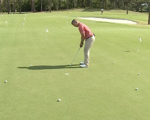 Get a better feel for the greens with this exercise- drill