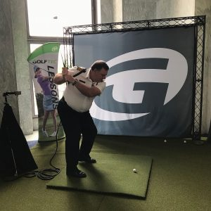 Onsite at 2019 National Golf Day- GOLFTEC both
