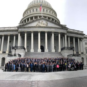 Onsite at 2019 National Golf Day- Capitol Building