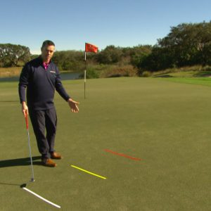 Are you going the distance with your putting?- set up