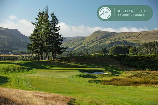 Gleneagles PGA Centenary course - a Jack Nicklaus design
