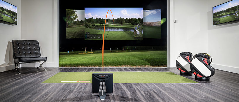 Play Virtual Golf Indoor and Outdoor